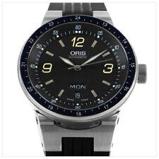 ORIS WILLIAMS F1 DAY&DATE AUTOMATIK ETA 2836-2 SAPPHIRE MOTORSPORT UHR 7595 +SET