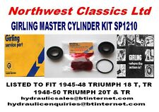 SP1210 NEW GIRLING BRAKE MASTER CYLINDER KIT