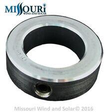 "1 - locking collar fits 2"" pipe 4 wind turbine generator 2 7/16"" inside dia."