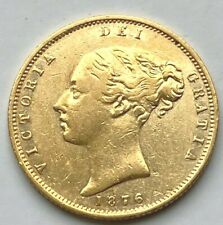More details for 1875 victoria  shield  half  sovereign  die  no 36  @16
