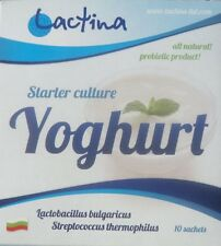 Lactina yogurt starter culture from Bulgaria, 2 boxes, 20 sachets