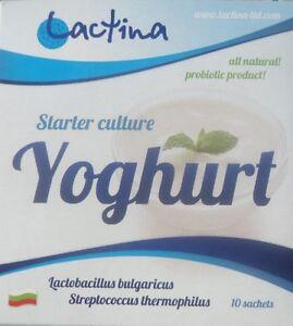 Genuine yogurt starter culture from Bulgaria, Lactina
