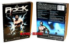 Dwayne THE ROCK Johnson WWE Most Electrifying Man THREE DISC DVD Box Set 2008