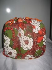 Vintage Retro Rare 1960's Cotton Floral Padded Tea Cosy