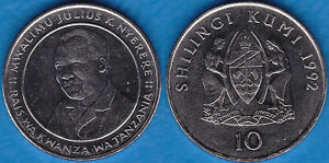 Tanzania 1992 10 shillings KM-20a BUNC - US-Seller