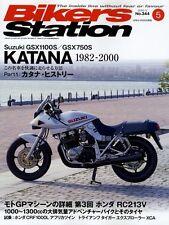 [BOOK] Bikers Station #344 Suzuki Katana GSX1100S GSX750S Honda RC213V NSF250RW