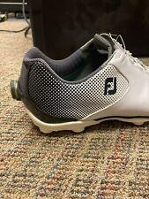 Footjoy DNA Helix Boa golf shoes. Size 13W
