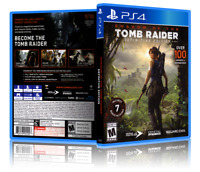 Shadow Of The Tomb Raider: Definitive Edition - Custom PS4 Cover & Case. NO GAME