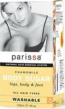 Chamomile Body Sugar to Gently Remove Unwanted Hair from Face & Body - 5 oz