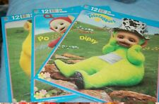 3 Vintage Teletubbies Puzzles New in Package ~Dipsy,Po,Laa-laa 1998