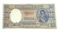 Chile 5 Pesos Banknote