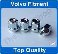 x4 12x1.5 Alloy Wheel Nuts Lugs 28mm Internal Thread For Volvo S40 V50 (2004-12)