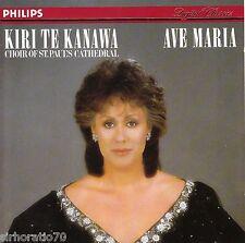 KIRI TE  KANAWA Ave Maria CD