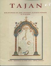 TAJAN RUSSIAN BOOKS Avant-Garde Remizov Rodtchenko Johannet Coll Auction Catalog