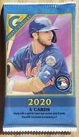 2020 Topps Gallery Baseball Blaster Pack 4 Cards