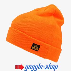 100% Mikkeli Hommes Bonnet Orange Ride 100 PERCENT Motocross MX MTB Neige
