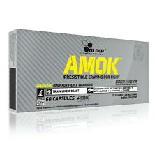 OLIMP Amok 60 Caps PRE WORKOUT ENERGY BOOSTER FOR FIGHTERS MMA