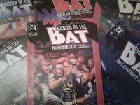 DC COMICS | BATMAN | SHADOW OF THE BAT | 1992 | VARIOUS ISSUES