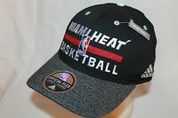 "Miami Heat Hat Cap ""Authentic Practice Cap"" Flexfit by Adidas NBA Caps"