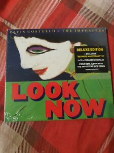 Elvis Costello and The Imposters - Look Now CD *NEW & SEALED*