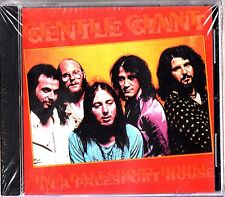 GENTLE GIANT- In A Palesport House Live Torino 1975 & TV CD (NEW Prog Rock)