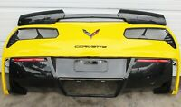2014-2019 C7 Corvette Rear Bumper Cover Assembly w/ Rear Diffuser USED 84411650