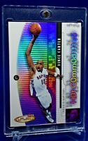 VINCE CARTER HOT COMMODITIES DIE CUT REFRACTOR RARE SP INSERT TORONTO RAPTORS