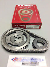 Small Block Chevy .250 Roller 3 Keyway Performance Timing Set S.A. GEAR 78100