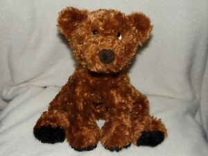 RUSS TOFFEE BROWN BEAR SOFT TOY TEDDY COMFORTER DOUDOU