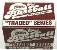 (24) 1990 Topps Traded Baseball Factory Sets.  Less than $2.75 each!
