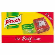 Knorr Beef Stock 8 Cubes - 80g - Pack of 2 (80g x 2)
