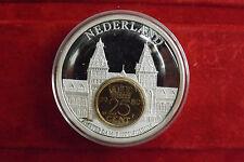 *Münze/Medaille Inlay Prägung Versilbert ca.55g-ca.50mm*Niederlande