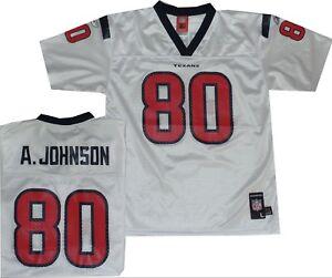 Andre Johnson Houston Texans Reebok Throwback YOUTH Jersey 8-20 $50