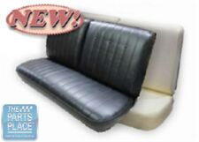 1969 Pontiac LeMans Coupe Rear Seat Cover - Black
