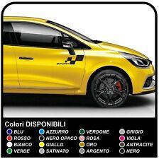 Adesivi CLIO RS SPORT MEGANE RS Grafica Set Adesivi CLIO e MEGANE Strisce Auto