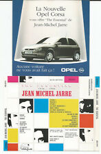 "JEAN MICHEL JARRE ""The Essential 1976-1986"" rare Opel Corsa Promo CD / Dreyfus"