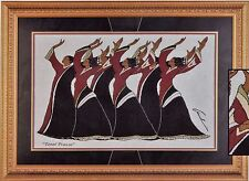 """African American Black Art Woven Tapestry """"TOTAL PRAISE"""" by Andre Thompson"""