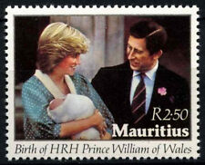 Mauritius 1982 SG#647 Birth Of Prince William MNH #D34153