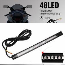 Flexible 48 LED SMD Strip Motorcycle Car Tail Turn Signal Brake Stop Lamp 12V