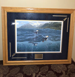 """""""ALASKAN VIEWS"""" TERRY PYLES Framed & Matted 1999 Signed, Limited Edition 290/600"""