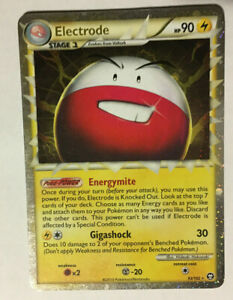 1X ELECTRODE 93/102 / HOLO RARE / MP+ / EX DRAGON / REAL PICS / WRONGWAY052