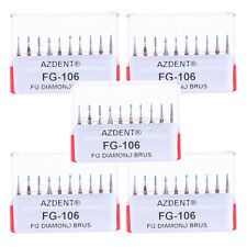 ESP 3 Kits Dental Diamond Burs FG-106 Kiddies Children kit Red 10pcs/kit