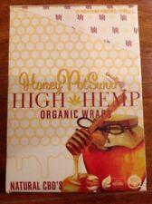 FREE GIFTS IF U BUY Honey PotSwirl High Hemp Herbal Organic Wraps 25pack 50wraps