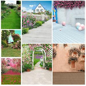 Flower Garden Photography Backdrop Photo Studio Background Props Wedding Holiday