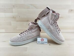 Nike SF Air Force 1 MID AF1 Particle Pink Shoes AA3966 201 Women's Size 10
