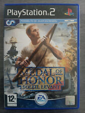 Medal Of Honor Soleil Levant - Sony PlayStation PS2 - PAL FR - Avec Notice
