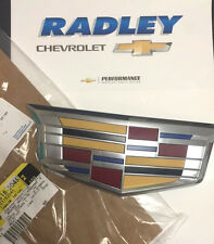 2015-2016 Cadillac Escalade & ESV GM OEM Front Grille Emblem NEW 23182045