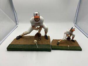 "2005 McFarlane MLB Cooperstown 12"" & 6"" Figure Cal Ripken Jr Baltimore Orioles"