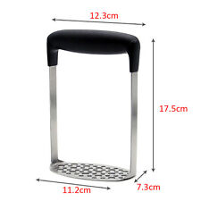 Home Kitchen Gadget DIY Tool Stainless Steel Press Potato Masher Ricers Handle