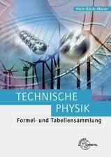 Technische Physik. Formel- und Tabellensammlung: ...   Buch   Zustand akzeptabel